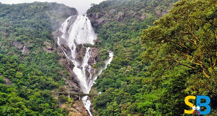 Goa Tourism-Waterfall