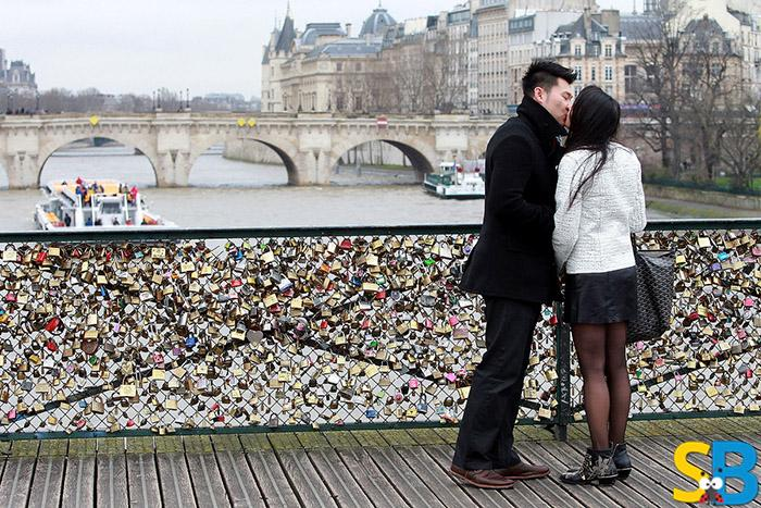Paris Padlocks of Love