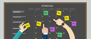 stick-to-theschedule