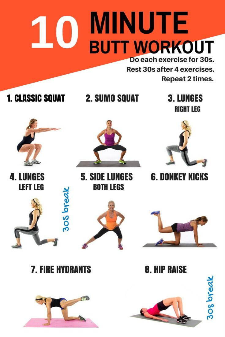 10 Workouts For Girls To Get Attractive Butts - SmuGG BuGG
