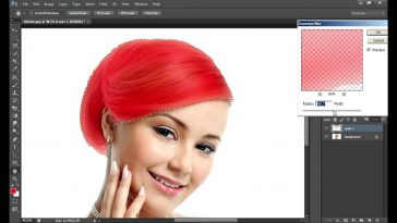 hair color in photoshop