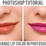 Change Lips Color in Photoshop