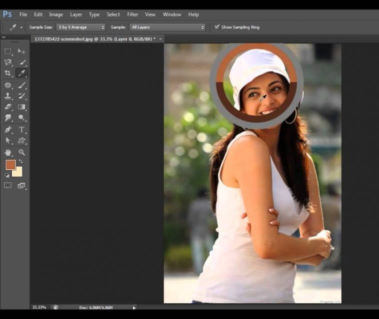 Explore the Eye Dropper Tool in Photoshop