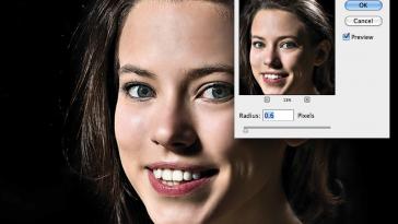 Sharpen Portrait in Photoshop
