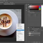 How to Create Basic Text Logo In Photoshop