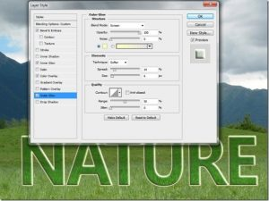 Create Transparent Text in Photoshop