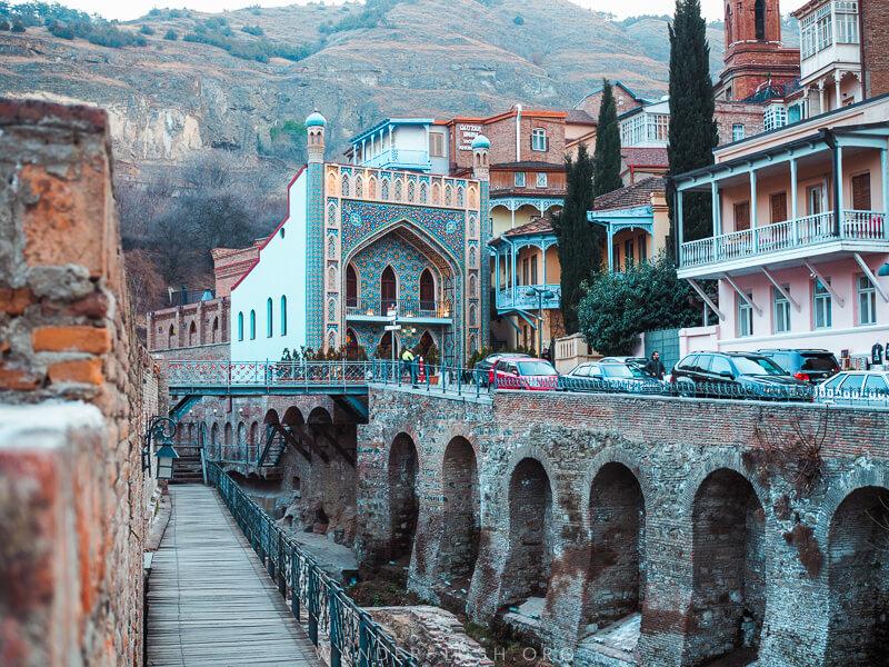 Tbilisi, Georgia in Winter