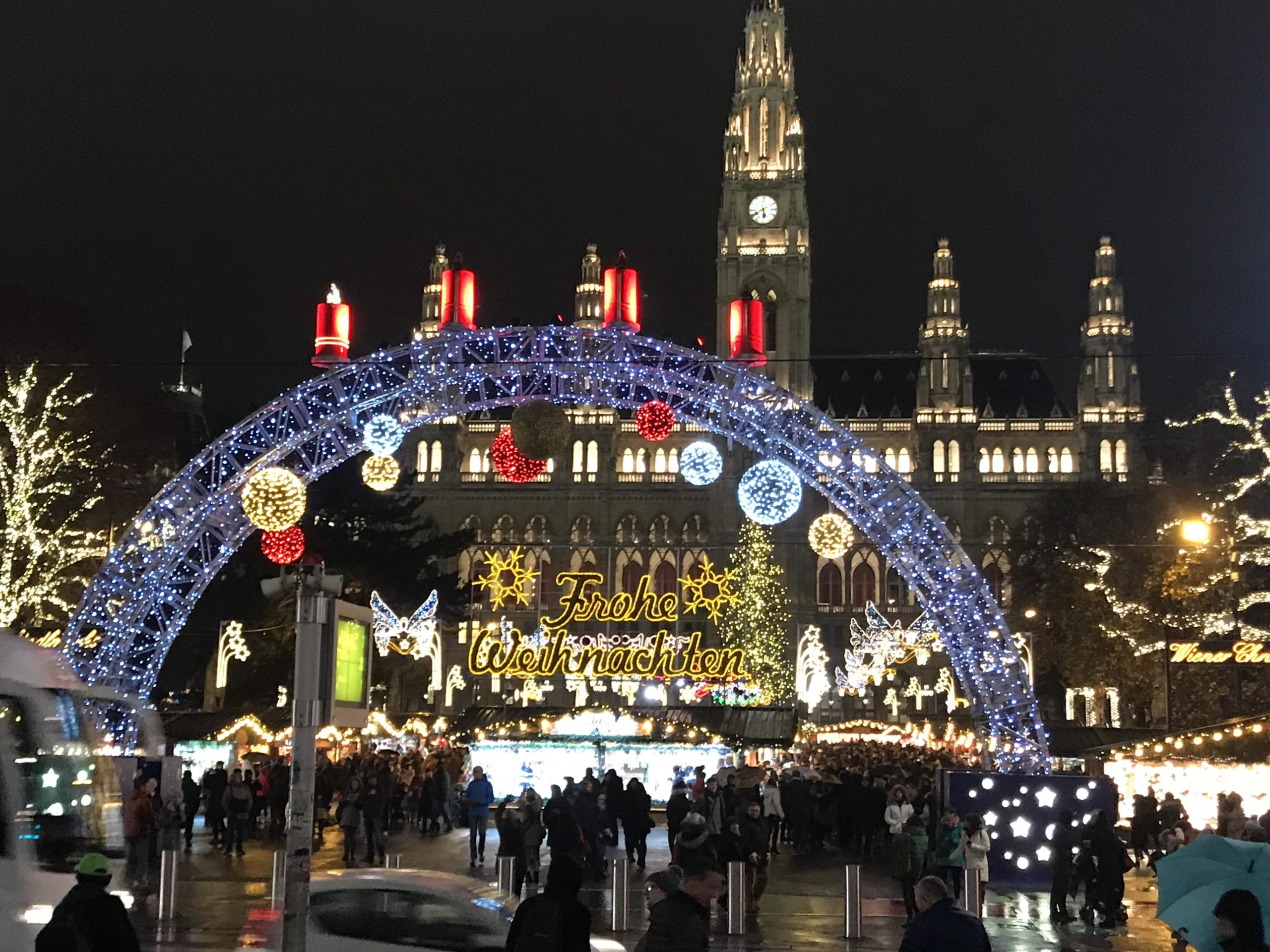 Vienna in December